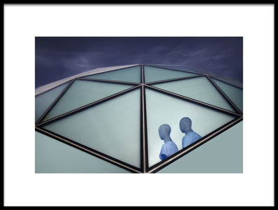 Art print titled Vision In Blue by the artist Marc Apers