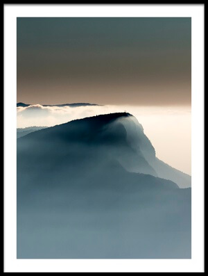 Art print titled Voile Alpin by the artist Jean-Louis VIRETTI