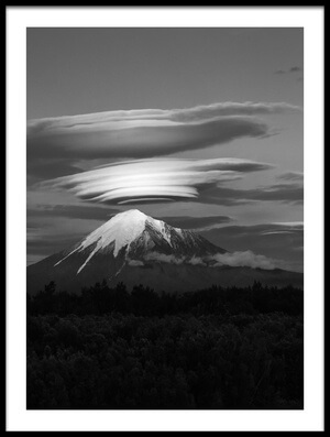 Buy this art print titled Volcano Goes to Sleep by the artist Lukáš Ildža
