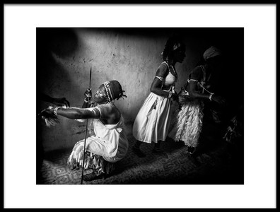 Art print titled Voodoo Session In Ivory CoastIII by the artist Joxe Inazio Kuesta Garmendia