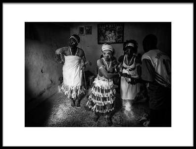 Art print titled Voodoo Session In Ivory CoastV by the artist Joxe Inazio Kuesta Garmendia