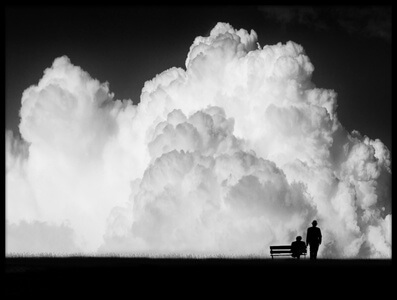 Buy this art print titled Waiting for the Storm by the artist Stefan Eisele