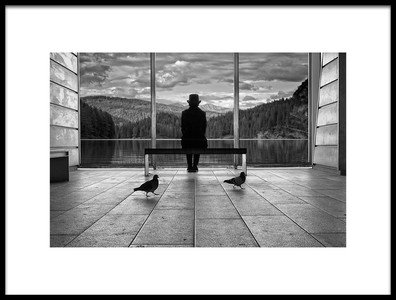 Art print titled Waiting for Tomorrow by the artist francesco deste