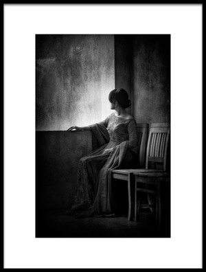 Art print titled Waiting So Long by the artist Arief Siswandhono
