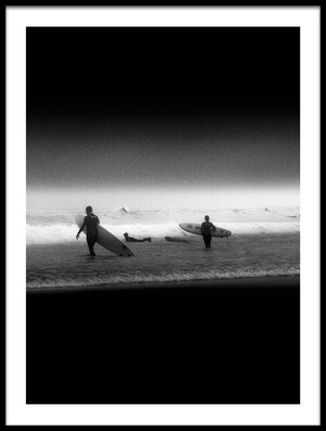 Art print titled Waiting the Good Wave by the artist Olavo Azevedo