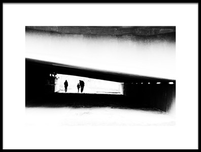Buy this art print titled Walk Off Frame by the artist Dragoslav S.