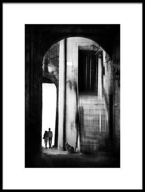 Buy this art print titled Walk Through the Arches by the artist Nicodemo Quaglia