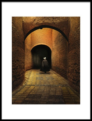 Buy this art print titled Walking by the artist Altan GÖKÇEK