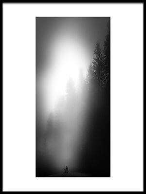 Buy this art print titled Walking In the Forest by the artist Nic Keller