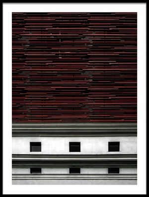 Art print titled Wall Design by the artist Gilbert Claes