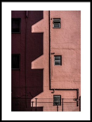 Buy this art print titled Walls and Shadows by the artist Tomoshi Hara