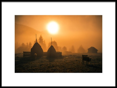 Art print titled Warm Morning by the artist Cristian Mihart