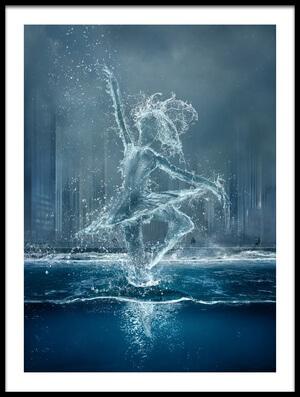 Art print titled Wasserballett by the artist Bettina Dittmann
