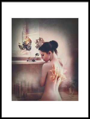 Art print titled WasteLand Posession by the artist Ekaterina Zagustina