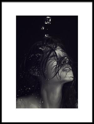 Art print titled Water by the artist Mars Khor