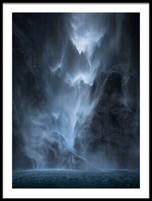 Art print titled Water Dance by the artist John Kitching