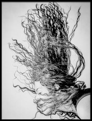 Buy this art print titled Wave by the artist Vahid Varasteh