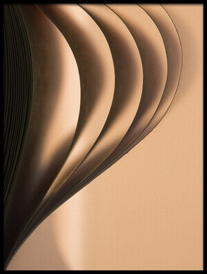 Art print titled Wave by the artist Hilde Ghesquiere