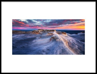 Buy this art print titled Waves by the artist Joshua Zhang