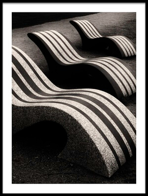Art print titled Waves by the artist Saša Pezelj