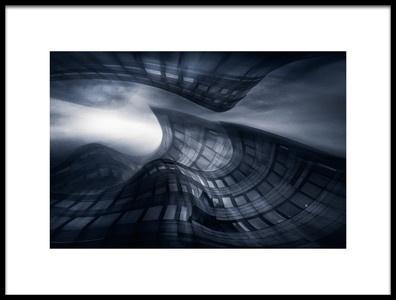 Art print titled Waves and Visions by the artist Stefan Kierek