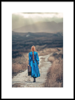 Art print titled Way Home by the artist Magdalena Russocka