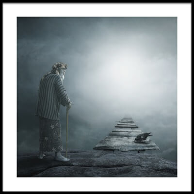 Buy this art print titled Way to Heaven by the artist heru agustiana