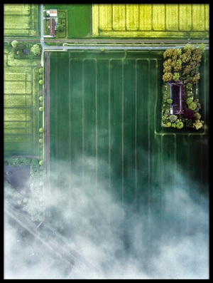 Art print titled Wear Clouds by the artist Zhou Chengzhou