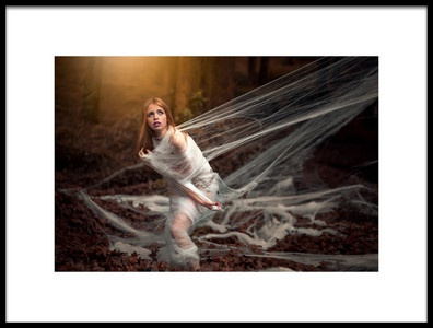 Art print titled Web by the artist c.santos