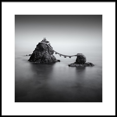 Art print titled Wedded Rocks by the artist Greg Metro