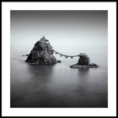 Buy this art print titled Wedded Rocks by the artist Greg Metro