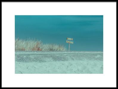 Art print titled Welcome to the Beach by the artist Bernardine de Laat