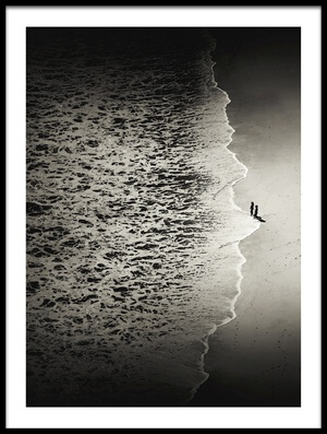 Art print titled We're 2 Small by the artist Mirela Momanu