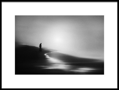 Art print titled West Coast Silence by the artist Marianne Siff Kusk
