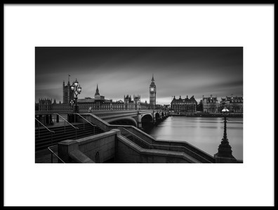 Buy this art print titled Westminster Bridge by the artist Oscar Lopez