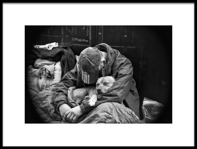 Art print titled When All I Have Left to Give Is Love by the artist ray clark