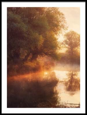 Art print titled When Nature Paints With Light II by the artist Leicher Oliver