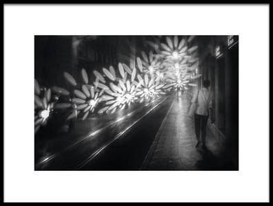 Art print titled When Sparks Become Flashes by the artist Laura Mexia
