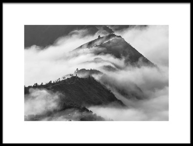Art print titled When the Fog Is Going Down by the artist Gunarto Song