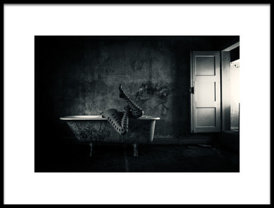 Art print titled Where Is My Mind by the artist Dirk Brune