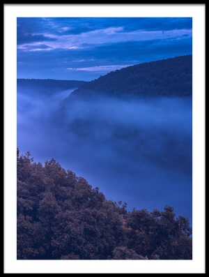 Art print titled Whitaker Point by the artist Michael Zheng
