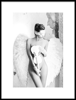 Buy this art print titled White Angel by the artist Ruslan Bolgov (Axe)