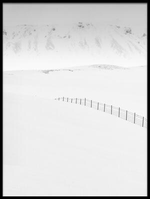 Art print titled White Coat by the artist Marc Pelissier