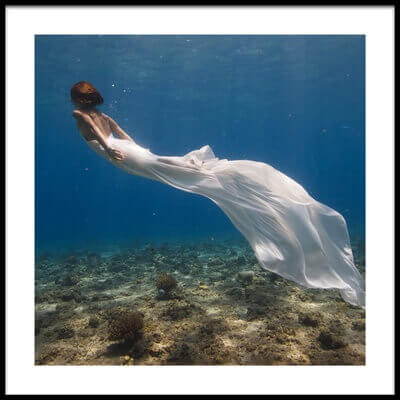 Buy this art print titled White Dress by the artist Assaf Gavra