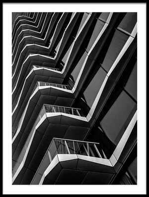 Buy this art print titled White Lines by the artist Henk van Maastricht