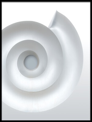 Art print titled White Mandala by the artist Harry Verschelden