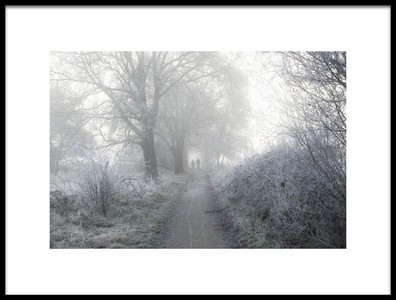 Art print titled White Walkers by the artist Vincent Croce