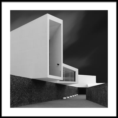 Buy this art print titled White Walls by the artist Olavo Azevedo