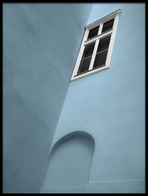 Buy this art print titled White Window by the artist Gilbert Claes