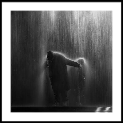 Buy this art print titled Why Does It Always Rain On Me by the artist Oliver Buchmann